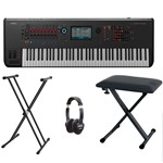 Yamaha Montage 7 Music Synthesiser Bundle With Included Accessories