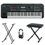 Yamaha MOXF6 Workstation bundle