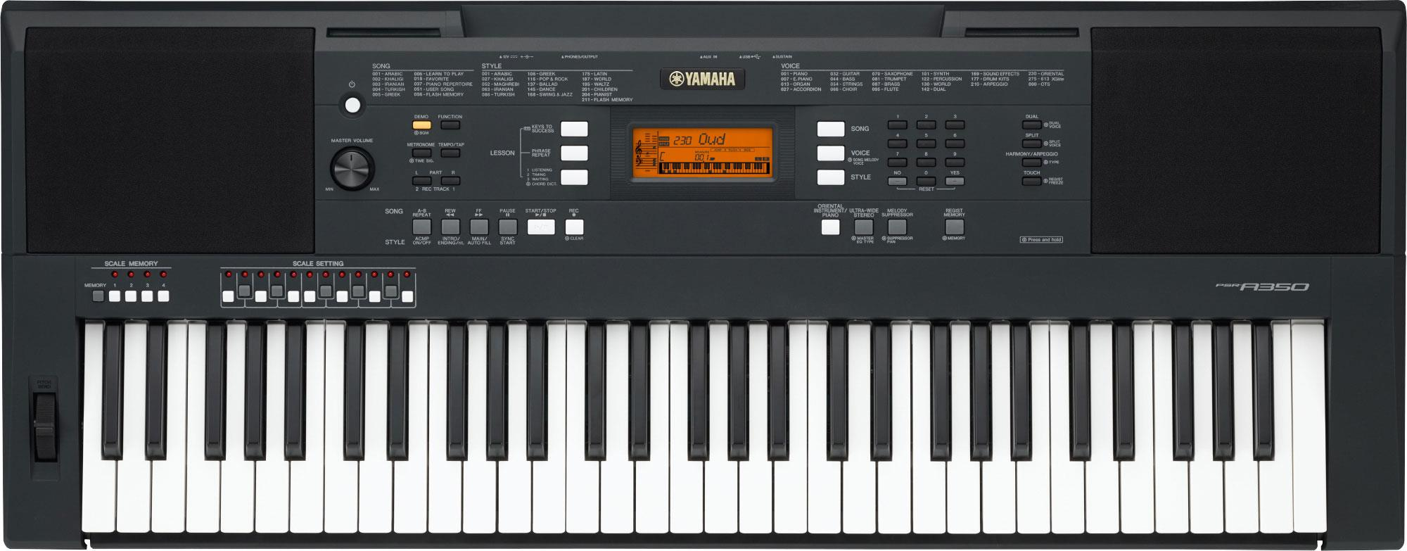 yamaha psr a350 digital piano gak. Black Bedroom Furniture Sets. Home Design Ideas
