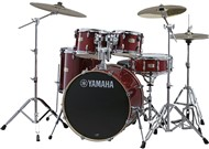 Yamaha SBP0F5 Stage Custom Birch 5 Piece Shell Pack w/600 Hardware (Cranberry Red)