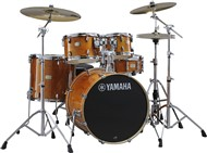 Yamaha SBP2F5 Stage Custom Birch 5 Piece Shell Pack w/600 Hardware (Honey Amber)