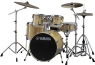 Yamaha SBP2F5 Stage Custom Birch 5 Piece Shell Pack w/600 Hardware (Natural Wood)