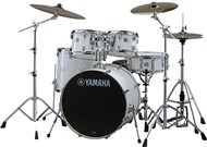 Yamaha SBP0F5 Stage Custom Birch 5 Piece Shell Pack w/600 Hardware (Pure White)