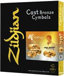 Zildjian K Custom Hybrid Cymbal Box Set Plus 18in Crash - K1250