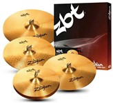 Zildjian ZBT Box and Cymbals