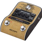 Zoom AC2 Acoustic Creator Guitar Pedal angle